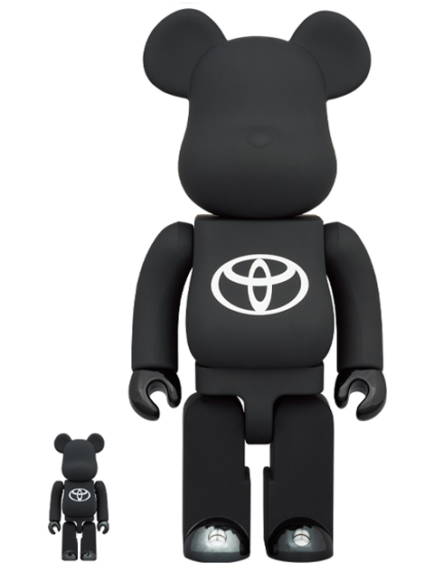 BE@RBRICK TOYOTA Drive Your Teenage Dreams. 100% & 400% ベアブリック