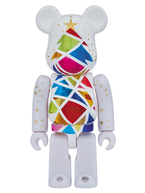 2016 Xmas Stained-glass tree Snow white Ver. 直営店限定モデル BE@RBRICK ベアブリック 100%