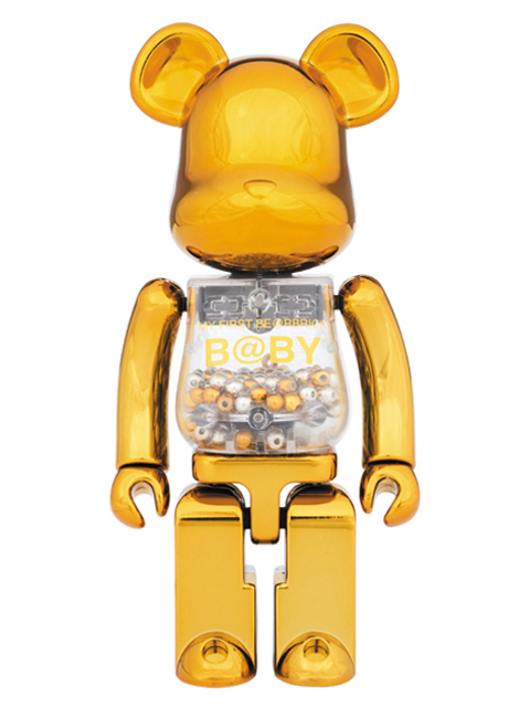 MEDICOM TOY EXHIBITION '17開催限定 ベアブリック 超合金 MY FIRST BE@RBRICK GOLD & SILVER Ver.