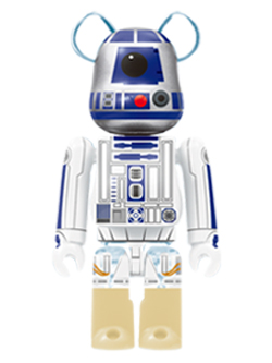 Happyくじ STAR WARS 24. R2-D2 TM  BE@RBRICK ベアブリック 100%