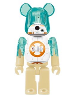 Happyくじ STAR WARS 28. BB-8 TM  BE@RBRICK ベアブリック 100%