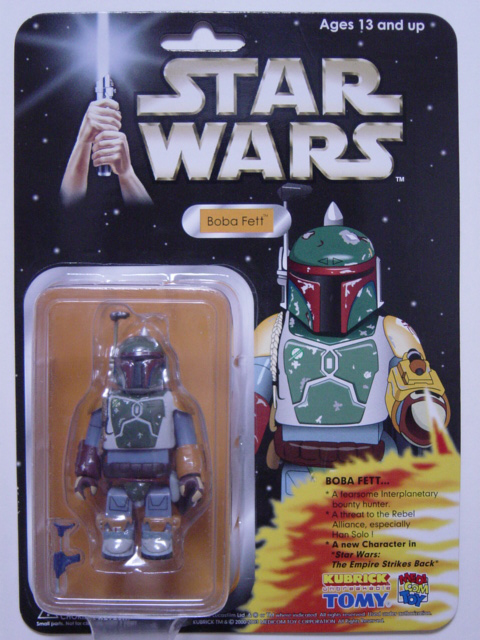KUBRICK STAR WARS EXHIBITION'03 BOBA FETT