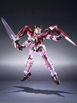 魂ネイション2009限定 ROBOT魂 ダブルオーガンダム トランザムクリアバージョン