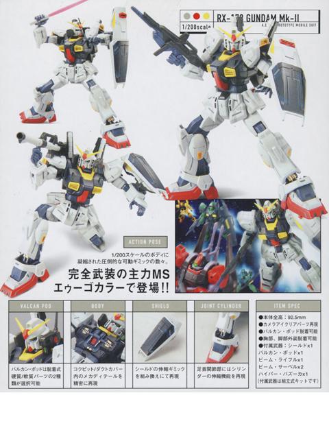 HCM-Pro 13-00 RX-178 ガンダムマークII (エゥーゴ)
