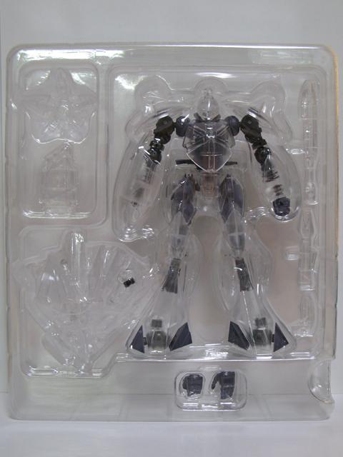 魂ネイション2009 ROBOT魂 組み立て体験限定 ターンX クリアVer.