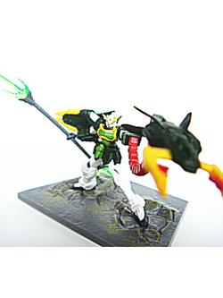 ガンダムコレクション DX3 ガンダムナタク(EW) ツインビームトライデント