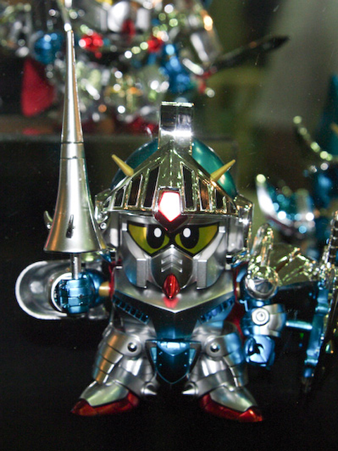 キャラホビ2008限定 BB戦士 DXバーサルナイトガンダム フルカラーメッキVer.