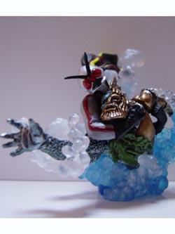 仮面ライダー イマジネイションフィギュア 海中の戦い