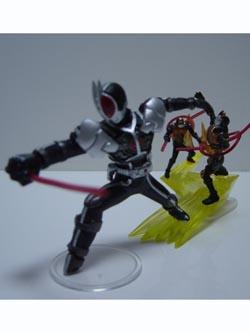 仮面ライダー イマジネイションフィギュア3 超速の刃