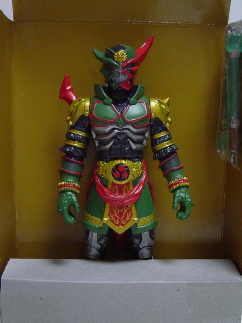 仮面ライダーヒビキと7人の戦鬼 DVD特典 仮面ライダーカブキ リアル重塗装版
