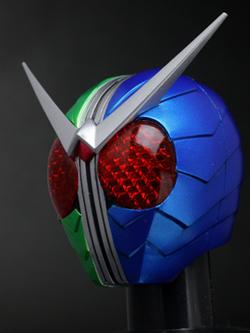 特撮ニュータイプ誌上限定  マスクコレクション 仮面ライダーW サイクロントリガー