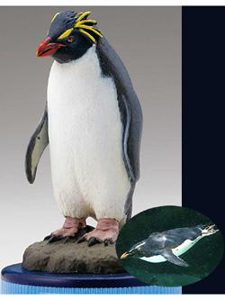 海洋堂 日本水族館立体生物図録 第2巻 アクア・トトぎふVer. イワトビペンギン