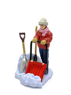 海洋堂 冬の北海道大物産展 雪かき道具