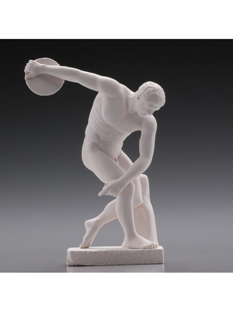 海洋堂 公式カプセルフィギュア古代ギリシャ展の彫刻 円盤投げ ディスコボロ