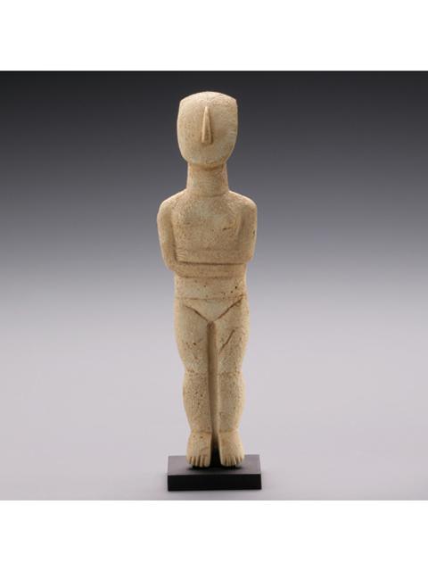 海洋堂 公式カプセルフィギュア古代ギリシャ展の彫刻 後期スペドス型女性像