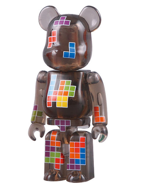 BE@RBRICK 18 PATTERN テトリス