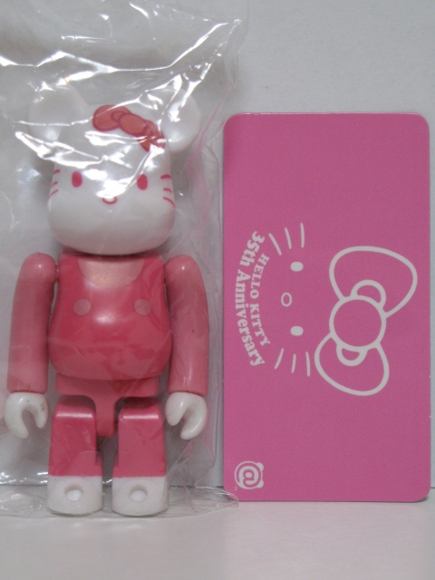 BE@RBRICK 18 ANIMAL 裏 キティー