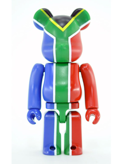 BE@RBRICK 20 FLAG 南アフリカ共和国