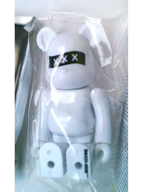 BE@RBRICK ベアブリック SERIES36 SECRET GOD SELECTION XXX 白Ver.
