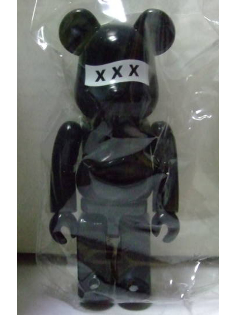 BE@RBRICK ベアブリック SERIES36 SECRET GOD SELECTION XXX 黒Ver.