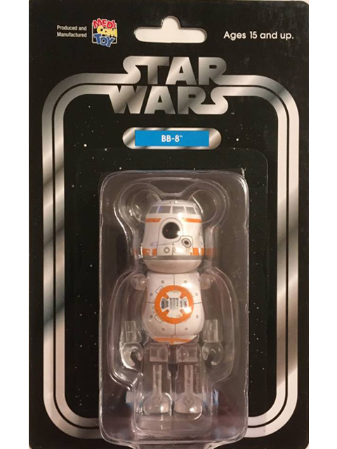 MEDICOM TOY EXHIBITION'18 非売品 STAR WARS(TM) BB-8 BE@RBRICK ベアブリック 100%