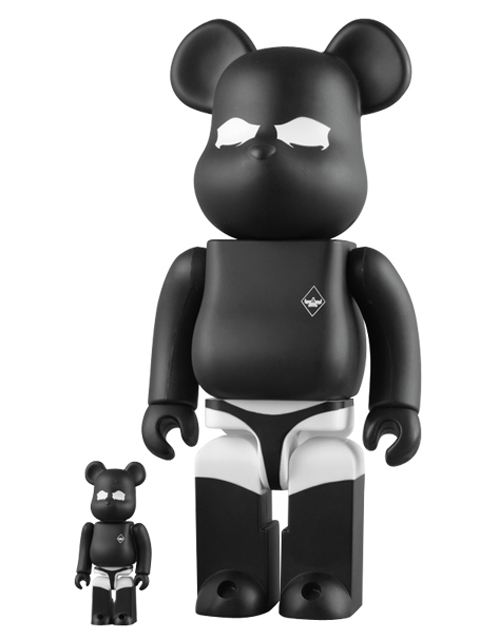 BE@RBRICK.com限定 SURRENDER BE@RBRICK ベアブリック 100%&400%