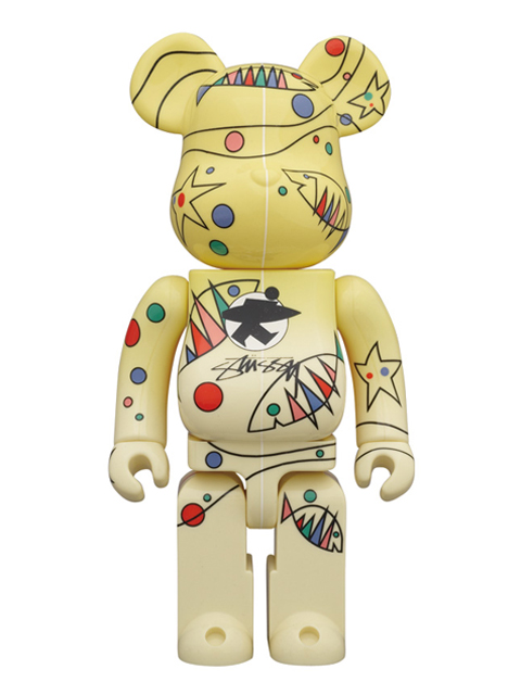 WORLD WIDE TOUR BE@RBRICK ベアブリック 400% STUSSY