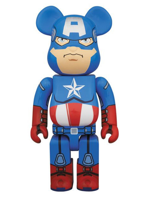 CAPTAIN AMERICA BE@RBRICK ベアブリック 400%