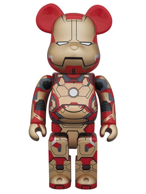MEDICOM TOY EXHIBITION 2013限定 BE@RBRICK IRON MAN MARK XLII(42) ベアブリック 400%