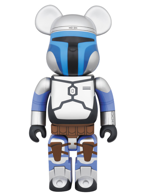 LEGENDARY BOUNTY HUNTER BE@RBRICK JANGO FETT(TM)  ベアブリック 400%