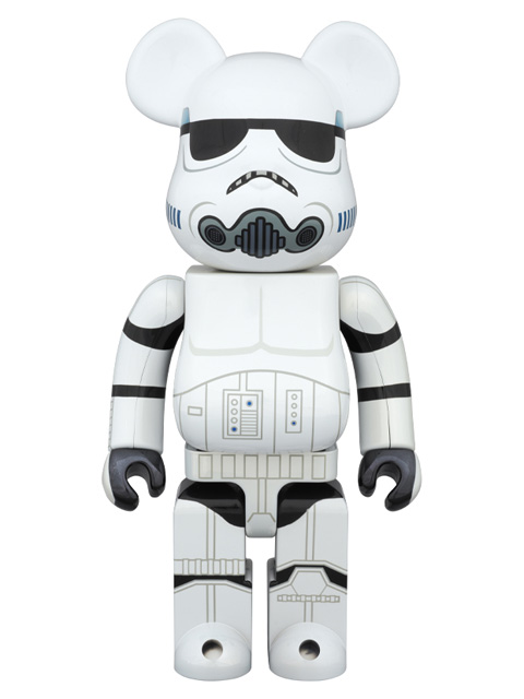 MEDICOM TOY EXHIBITION 2015限定 BE@RBRICK ベアブリック STORMTROOPER(TM)  CHROME Ver.  400%