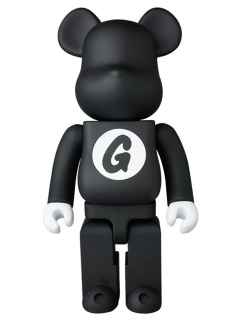BE@RBRICK ベアブリック GOODENOUGH BLACK 400%