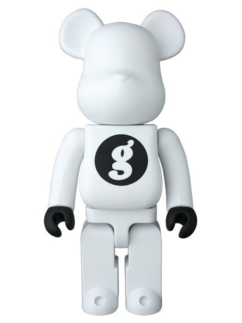 BE@RBRICK ベアブリック GOODENOUGH WHITE 400%