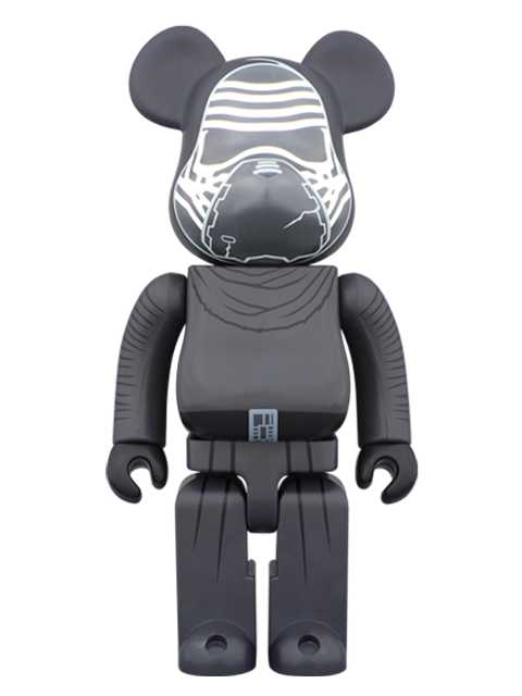 MEDICOM TOY 20th ANNIVERSARY EXHIBITION開催限定 BE@RBRICK ベアブリック KYLO REN(TM) 400%