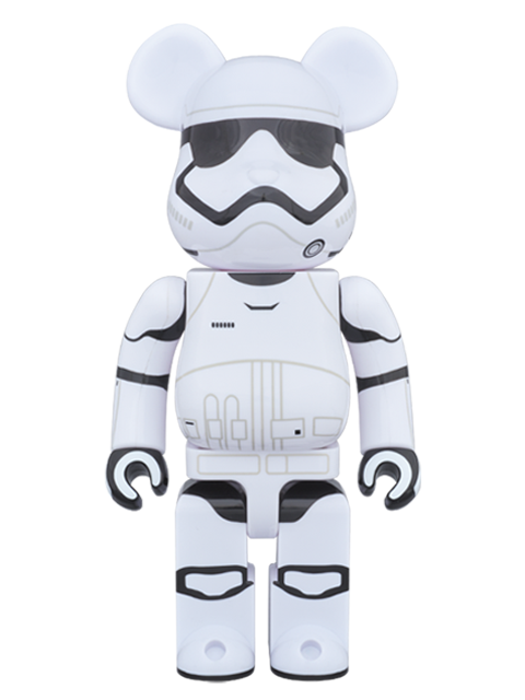 MEDICOM TOY 20th ANNIVERSARY EXHIBITION開催限定 BE@RBRICK ベアブリック FIRST ORDER STORMTROOPER(TM) 400%