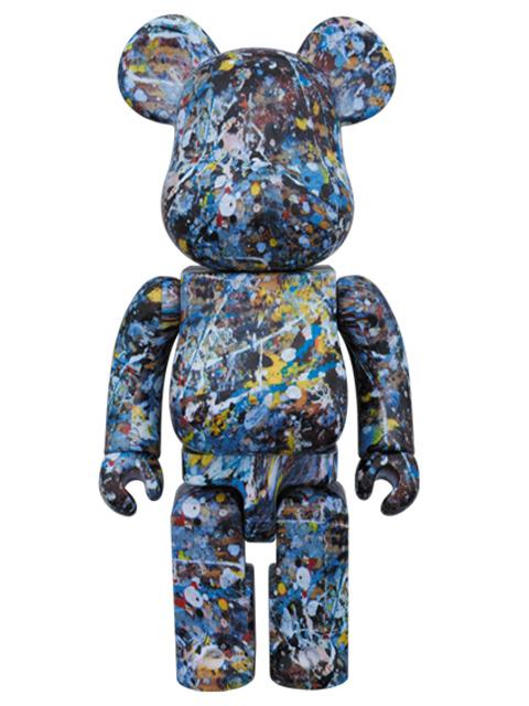 Jackson Pollock Studio BE@RBRICK ベアブリック 400%