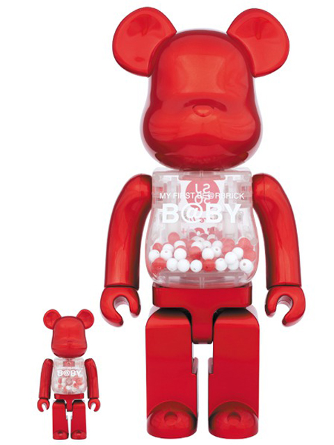 MY FIRST BE@RBRICK B@BY SJ50 ベアブリック 100% & 400%