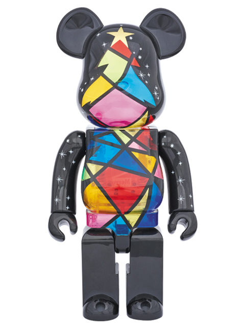 2016 Xmas Stained-glass tree Ver. BE@RBRICK ベアブリック 400%
