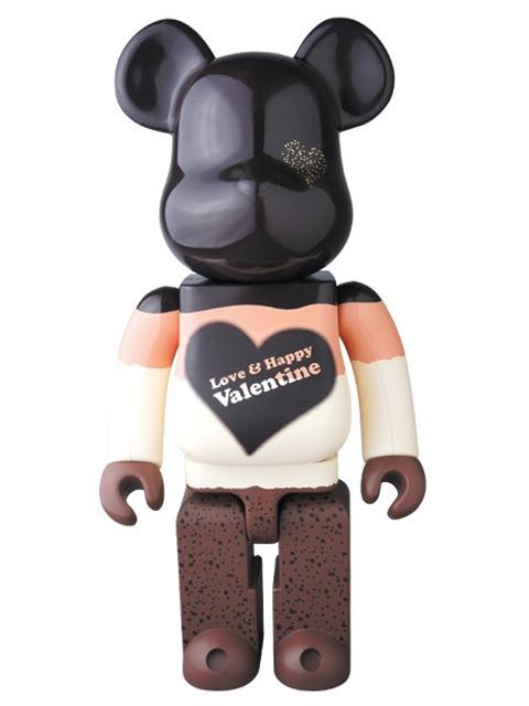 2017 Valentine Mousse Chocolat Ver. BE@RBRICK ベアブリック 400%