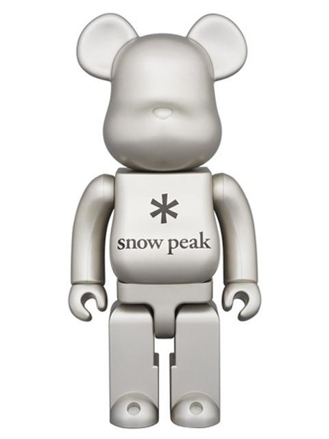 snow peak BE@RBRICK ベアブリック 400%