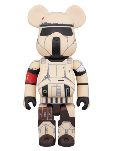 MEDICOM TOY EXHIBITION '17開催限定 SHORETROOPER(TM) BE@RBRICK ベアブリック 400%