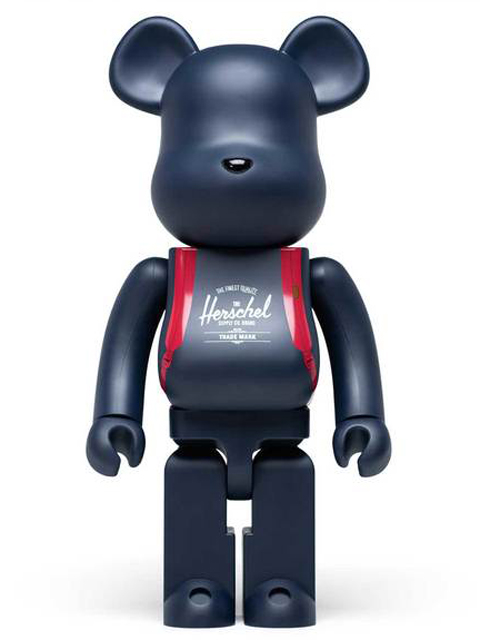 Herschel Supply x BE@RBRICK ベアブリック 400%
