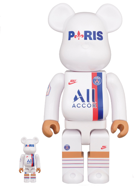 BE@RBRICK PARIS SAINT-GERMAIN 100% & 400% ベアブリック