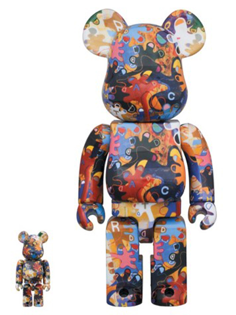 BE@RBRICK 《のっ手いこー! REACH OUT》 100% & 400% ベアブリック