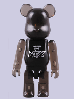 モスバーガー x PEPSI NEX オリジナルコラボ BE@RBRICK 50% PEPSI NEX Ver.