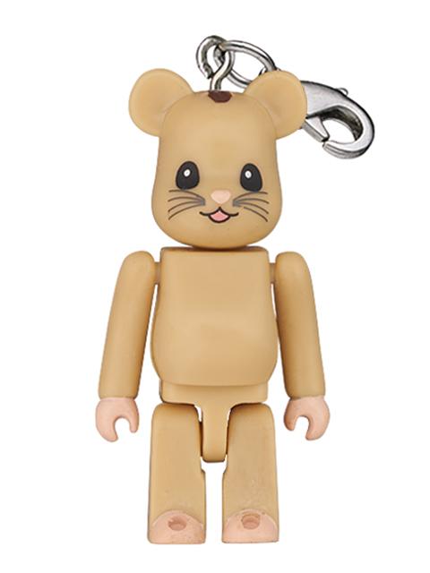 伊勢丹 2011彩り祭 フォージャパン チャリティキャンペーン限定 ニホンヤマネ BE@RBRICK ストラップ 50%
