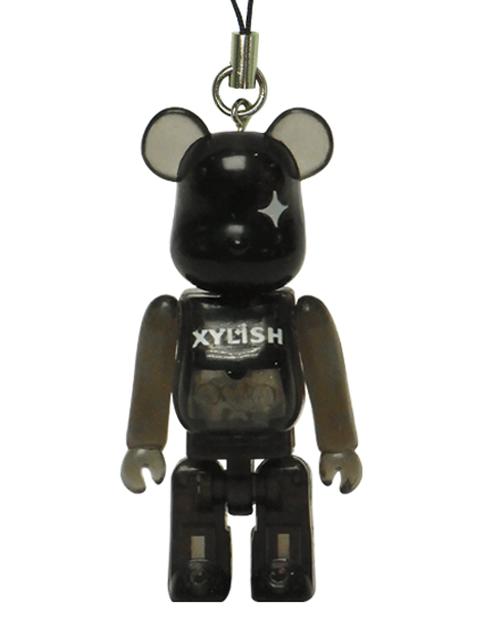 セブン-イレブン限定 XYLISH BE@RBRICK 50% クリアブラックVer.