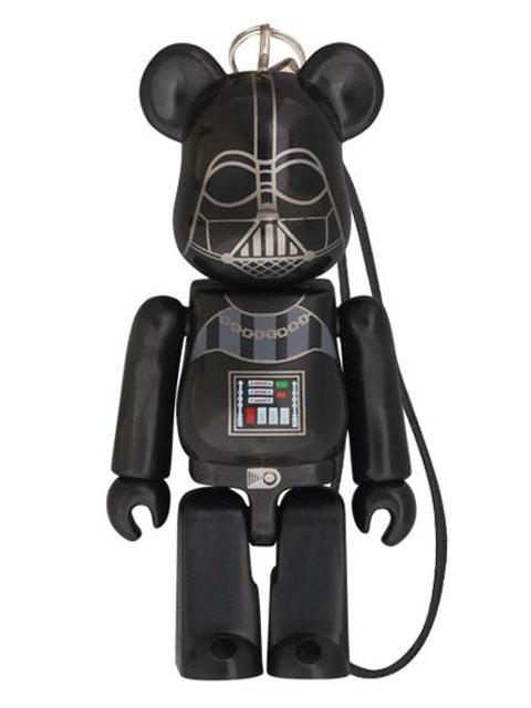 BE@RBRICK ベアブリック セブンイレブンxSTAR WARS EP1 3D Darth Vader (ダース・ベイダー)