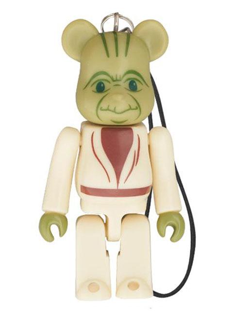 BE@RBRICK ベアブリック セブンイレブンxSTAR WARS EP1 3D Yoda (ヨーダ)