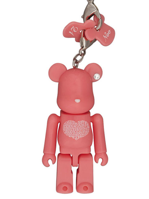 Happy BE@RBRICK INTERNATIONAL LOVE HEART ピンクVer. 70% ベアブリック